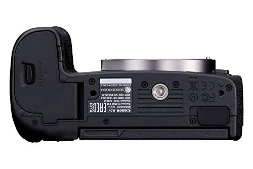 Canon EOS R Vollformat Systemkamera Gehäuse + Bajonettadapter EF- EOS R (spiegellos, 30,3 MP, 8,01 cm (3,2 Zoll) Clear View LCD II Display, DIGIC 8, 4K Video, WLAN, Bluetooth), schwarz