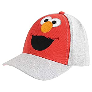 Sesame Street Hat, Elmo or Bart Simpsons Baseball Cap for Little Age 2-7