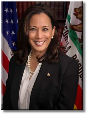 ArtWorks Decor Kamala Harris Official on Portrait Picture New product type Stretc Max 79% OFF