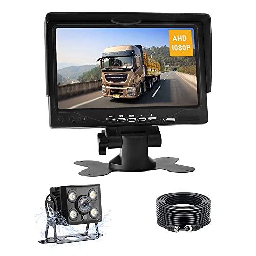 AHD 1080P Kit de Caméra de Recul Moniteur de Caméra de...