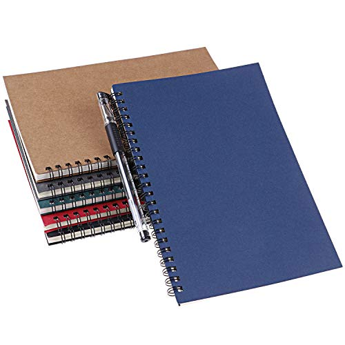 Xgood 6 Colors Spiral Notebook Colorful Spiral Notebooks Student Spiral Journal Notebook Soft-cover Notebook for Students School Office Working Supplies Photo #3