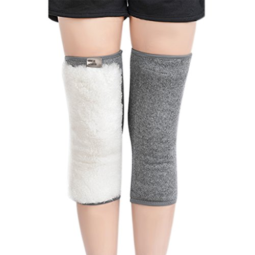 Cashmere Wool Knee Brace Pad Winter Thermal Knee Warmer Sleeve Support Protector