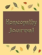 Homeopathy Journal: Homeopathic Remedy Notebook