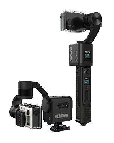 REMOVU S1 3-Axis Gimbal stabilizer for GoPro HERO5, Hero 5 Session,...
