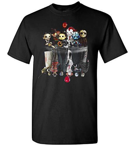 Personajes de la película de terror Amigos Halloween (2) Camiseta, con capucha, Personalizado