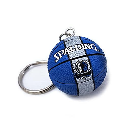 Mavericks Llavero de baloncesto creativo llavero llavero mochila para teléfono móvil decoración colgante regalo