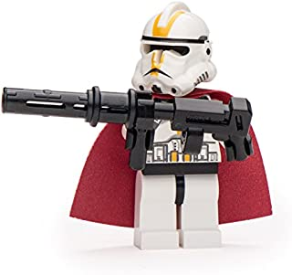 LEGO Parts: Star Wars Elite Ep3 Clone Trooper with Cape and Heavy Cannon