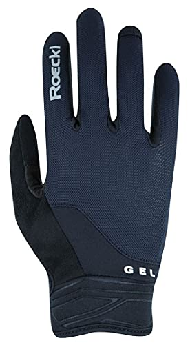 Roeckl Mori Fahrrad Handschuhe lang schwarz 2022: Größe: 9