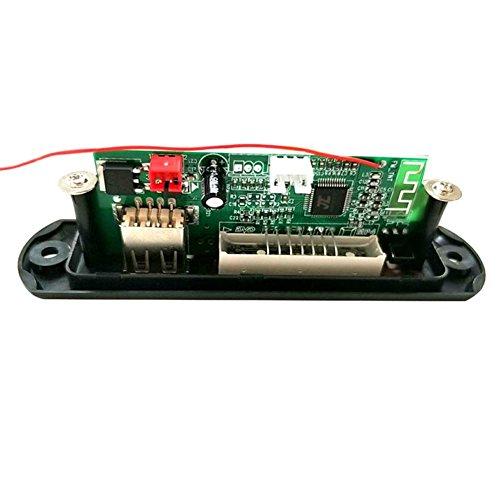 Wildlead Module audio sans fil Bluetooth 12 V MP3 WMA Radio TF USB pour voiture