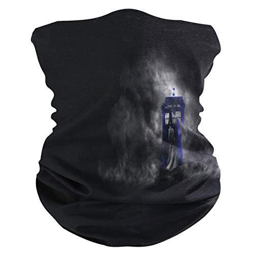 Unisex Seamless Face Mask Bandanas Neck Gaiter Tube Mask Headwear Neck Warmer for Women Men Face Scarf-Doctor Who HD Wallpapers
