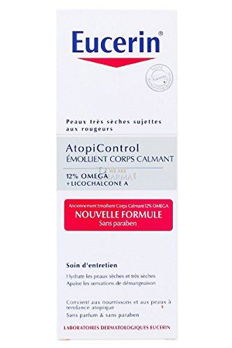 Eucerin AtopiControl Emollient Corps Calmant 250 ml