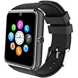 Willful Montre Connectée Homme Montre Telephone avec SIM pour Huawei Samsung Android Smartwatch Vibrante SMS Appel Smart Watch Tactile Montre Intelligente Santé Montre Sport Podometre Suivi Sommeil
