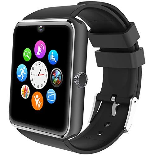 Willful Smartwatch Uomo Orologio Telefono con SIM SD Card Slot Smart Watch Bluetooth per Android Rispondere Chiamate Orologio Sportivo Fitness Tracker Conta Calorie Contapassi con Fotocamera