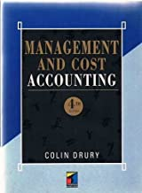 Management Cost Accounting: Fall 1996
