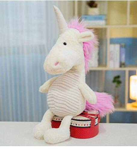JMHomeDecor About 35Cm Cute Cartoon Unicorn Plush Toy Soft Doll W1907