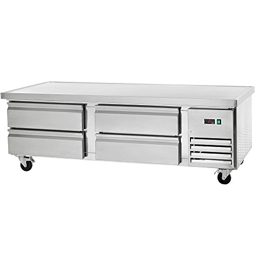 Arctic Air ARCB72 74-Inch 4-Drawer Refrigerated Chef Base, 115v