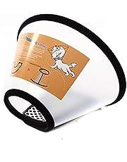 اداة الاستحمام للقطط والكلاب، غطاء حماية لالتئام الجروح مخروطي الشكل ومقاوم للعض للحيوانات الاليفة