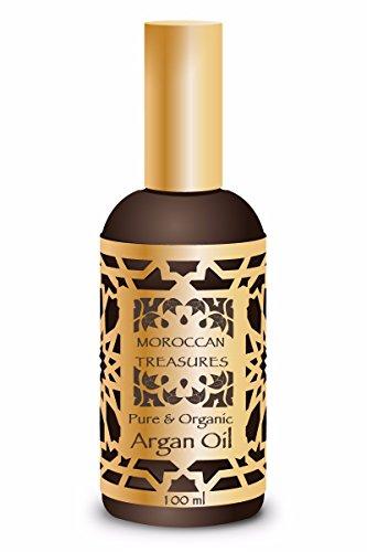 Arganöl Kaltgepresst, 100ml. Marokkanisches Haaröl/Haarkur 100% Bio. Haarwachstum Beschleunigen. Haarpflege Argan öl von Agadir. Arganöl Haare. Reines Arganöl und Biologische.