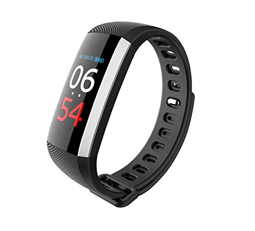 Collasaro Fitness Tracker Watch, Waterproof Activity Tracker Bluetooth Smart Watch with Heart Rate Monitor Step Tracker