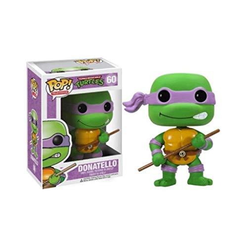 YGZ Tortugas Ninja Pop Figuras de Vinilo: Películas: Donatello Figura colección Exquisita Caja de Embalaje, Birthday Present