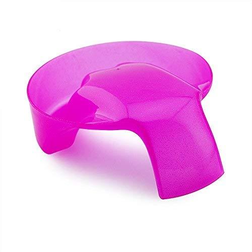 KADS 1pc Pink Nail Art Hand Wash Remover Soak Bowl DIY Salon Glitter Nail Spa Bath Treatment Hand Resurrection Care...