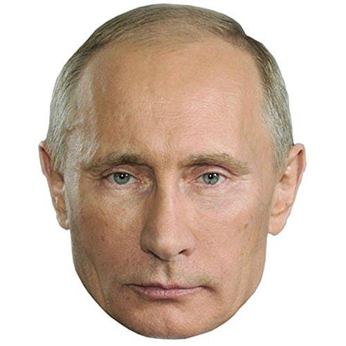 Vladimir Poetin Celebrity Masker, Kaartgezicht en Fancy Dress Masker