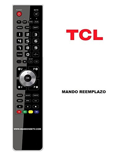 Mando TV TCL 26A12H: Amazon.es: Electrónica
