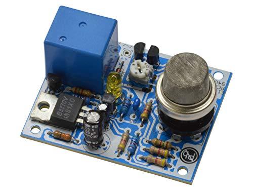 Gas Sensor Alkoholtester KEMO Bausatz Feuer-Gas-Melder