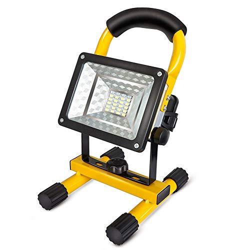 Hand-LED-Arbeitslicht, Außen Wiederaufladbare Flutlicht, Scheinwerfer, Baumaschinen Lampe, Für Im Freien Kampierende Wandernden Notfall