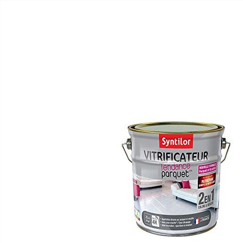 Syntilor - Vitrificateur Parquet™ Blanc Laqué 2L