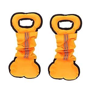 non-brand Sharplace 2pcs Os de Morsure de Chien Equipement d'Education de Chiot Fournitures de Animaux