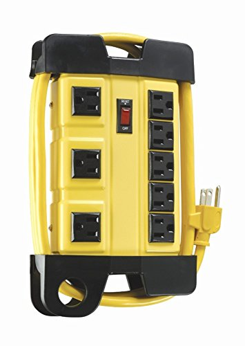 Woods 4655 Power Strip, 8-Outlet