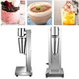 180W Commercial Electric Milkshake Maker Drink Mixer Shake Machine Smoothie Milk...