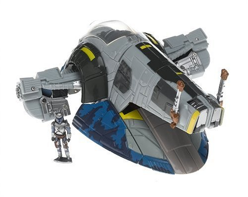 Hasbro Star Wars Transformers - Jango Fett and Slave 1