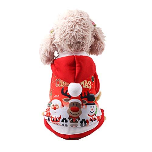 Traje Gato Navidad marca Yu-Xiang