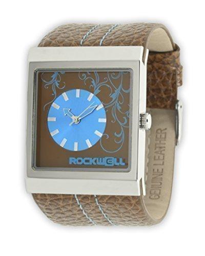 Rockwell Mercedes Pelle Marrone/ Blu MC115 Donna orologio da polso