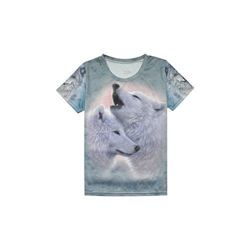 Spoz Sportwear Fashion Fast Dry Tee Shirt Top L