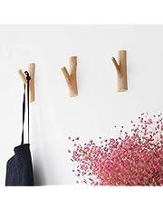 JUSTDOLIFE JUSTDOLIFE 3 STKS Jas Haak Handgemaakte Decoratieve Creatieve Muur Opknoping Haak voor Home Decor