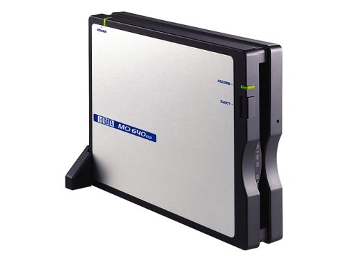I-O DATA MOC2-U640L USB 2.0/1.1 コンパクトMOドライブ