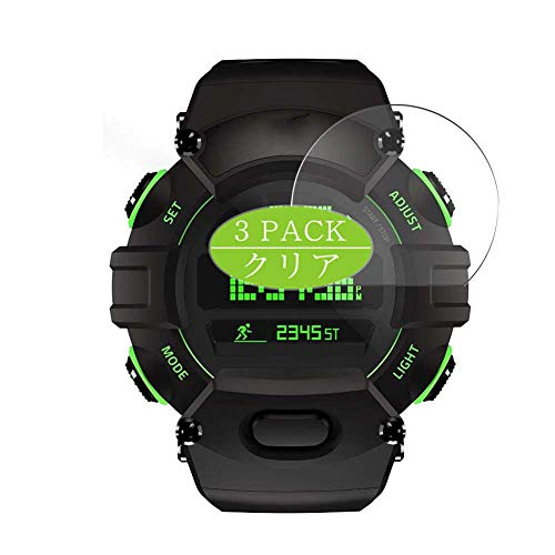 Vaxson 3 Stück Schutzfolie, kompatibel mit Razer Nabu smartwatch Smart Watch, Displayschutzfolie Bildschirmschutz Blasenfreies [nicht Panzerglas]