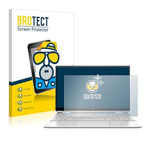 BROTECT Entspiegelungs-Schutzfolie kompatibel mit HP Spectre x360 13-aw0016ng Bildschirmschutz-Folie Matt, Anti-Reflex, Anti-Fingerprint