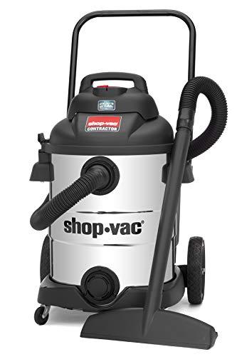 Shop-Vac 9627710 10 Gallon 6.5 Peak HP Stainless Contractor Wet Dry Vacuum