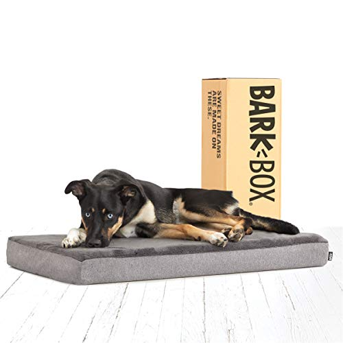 Barkbox Memory Foam Platform Dog Bed |...