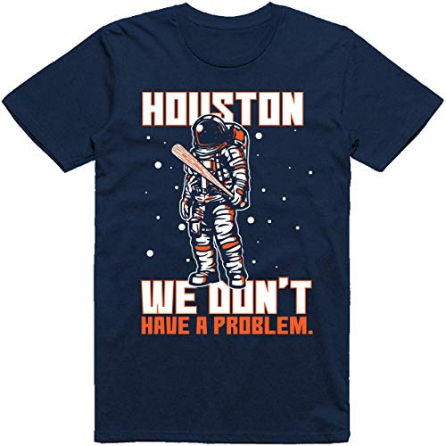 NR KOMANBO Houston Astronaut We Don't Have a Probleem Baseball Fans Classic T-shirt