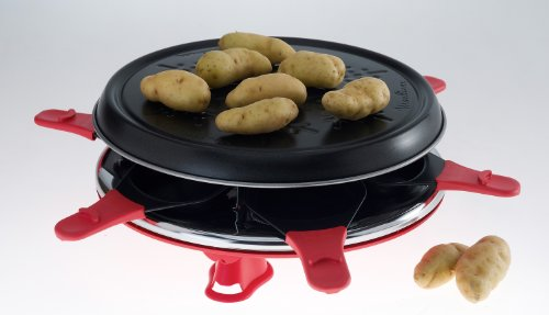 MOULINEX Raclette grill Accessimo RE160811 - rouge brique