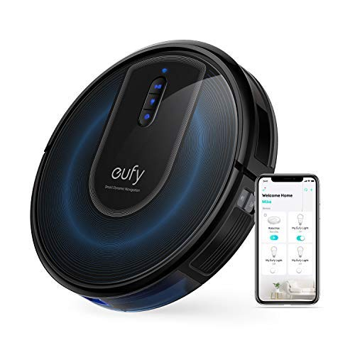eufy by Anker, RoboVac G30, Robot Vacuum with Smart Dynamic Navigation 2.0, 2000Pa Strong Suction, Wi-Fi, Works with Alexa, Carpets and Hard Floors.