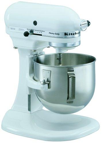 KitchenAid Heavy Duty Series 5-Quart Stand Mixer, White