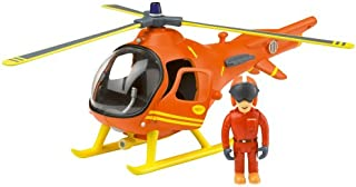 Fireman Sam - Mountain Rescue Helicopter with Tom