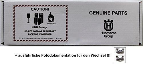 Original Husqvarna Automower 220 AC 230 ACX Batterie Akku + Fotodokumentation!!!