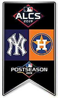 Baseball 2019 ALCS Dueling Teams PIN Yankees VS. Astros Banner Style PIN American League Championship Series
